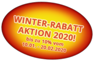 Winter-Rabatt-Aktion 2020